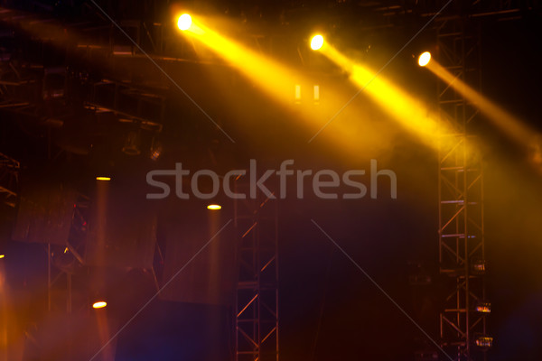 stage lights 07 Stock photo © wxin