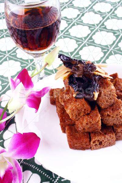 Stock fotó: Kína · finom · étel · kínai · konyha · bab