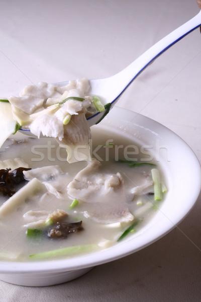 China heerlijk voedsel gekookt vis Stockfoto © wxin