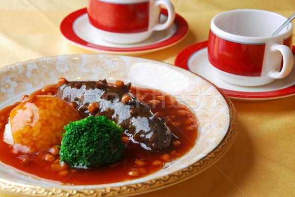 Kínai étel Kína finom étel tenger szakács Stock fotó © wxin