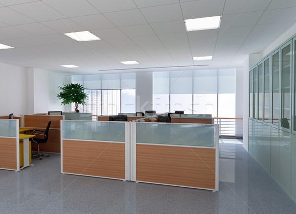 3D modernes bureau chambre personne rendu 3d Photo stock © wxin