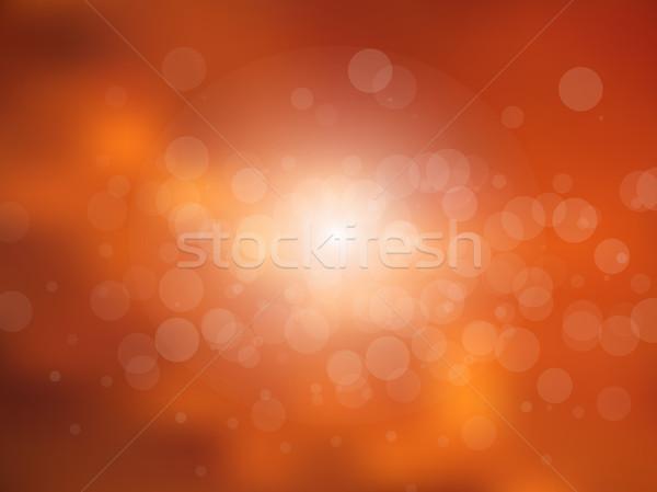 Vektor absztrakt nap ünnep elmosódott naplemente Stock fotó © X-etra