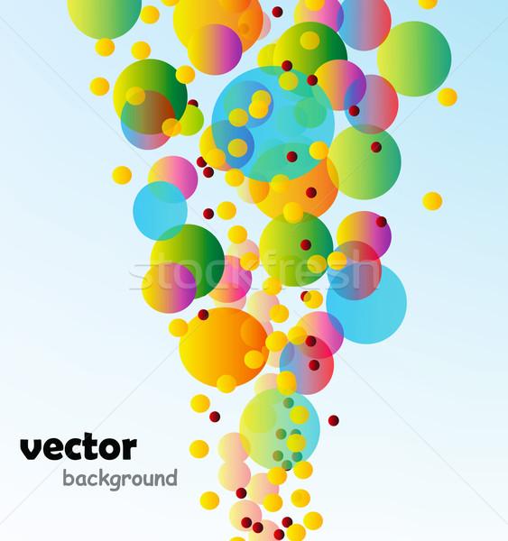 Abstrato vetor bom colorido fundo espaço Foto stock © X-etra