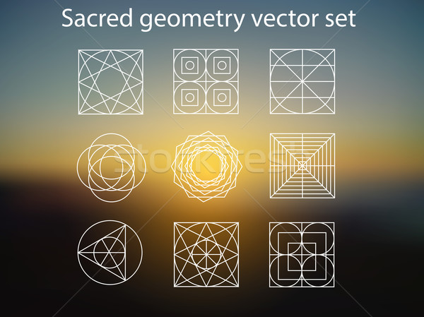 Sacred geometry Stock photo © X-etra