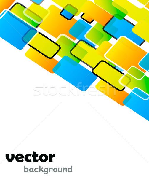 Nice colorato campione testo business texture Foto d'archivio © X-etra