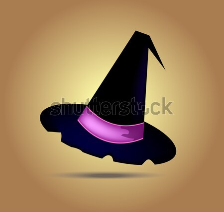 Vector halloween hat Stock photo © X-etra