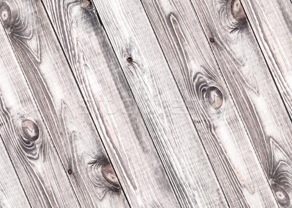 Gray wooden planks background Stock photo © xamtiw