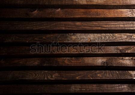 dark wood for texture or background Stock photo © xamtiw