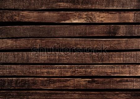 Dark wood texture Stock photo © xamtiw