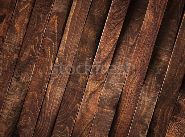 Dark Wood background Stock photo © xamtiw