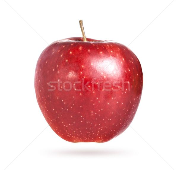 Red apple on white background Stock photo © xamtiw