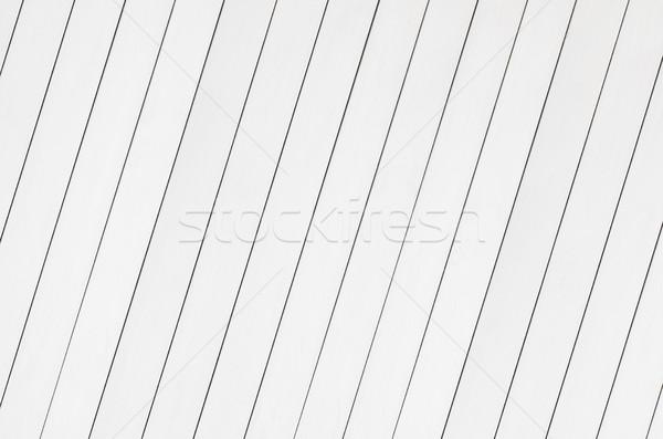 White background of wooden planks Stock photo © xamtiw