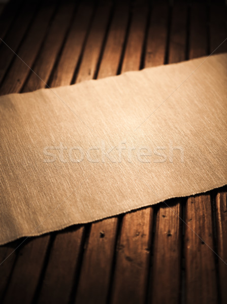 Empty wooden table for display montage Stock photo © xamtiw