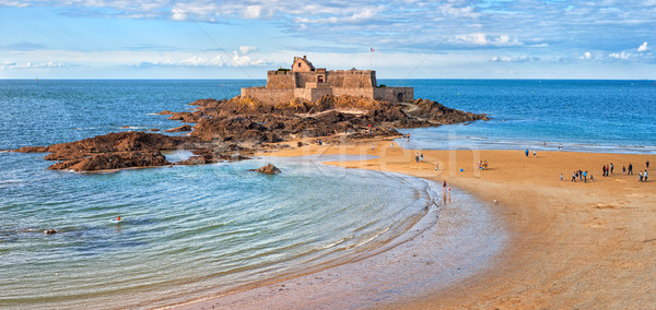 Saint Malo, Brittany, France Stock photo © Xantana