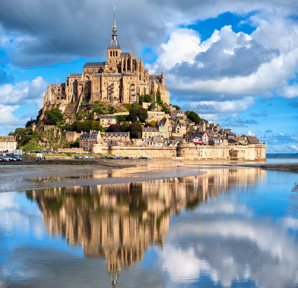 Mont Saint-Michel, France Stock photo © Xantana