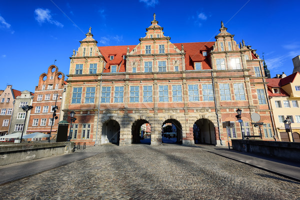 The Green Gate, Gdansk, Poland Stock photo © Xantana