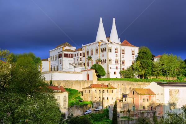 The National Palace, Sintra, Portugal Stock photo © Xantana