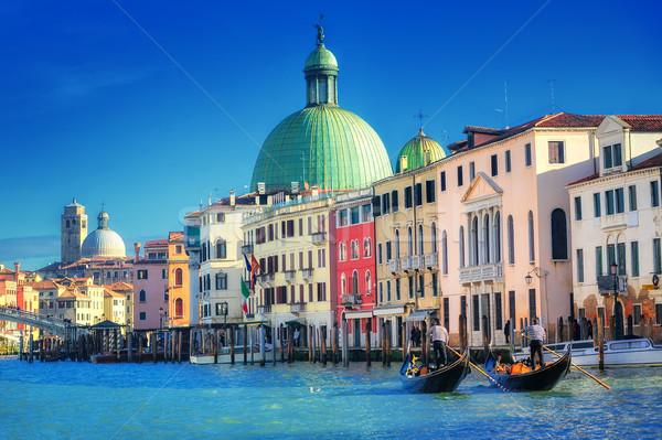 Stock photo: The Grand Canal, Venice, Italy