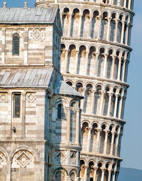 Leaning tower of Pisa, Italy Stock photo © Xantana