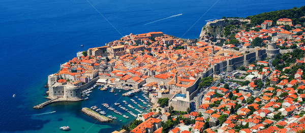 The historical old town of Dubrovnik, Croatia Stock photo © Xantana
