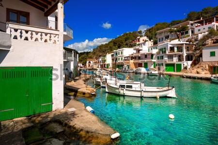 地中海 海 スペイン 伝統的な 白 スペイン語 ストックフォト © Xantana