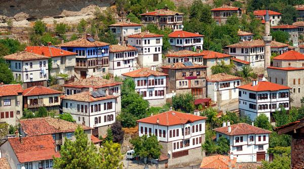 Historical ottoman houses, Safranbolu, Turkey Stock photo © Xantana