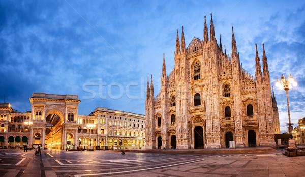 ミラノ 大聖堂 ミラノ 1 教会 ストックフォト © Xantana
