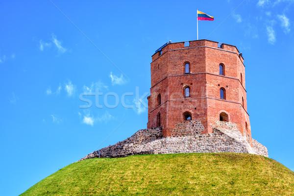 Torre importante histórico símbolo cidade céu Foto stock © Xantana