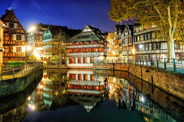 La Petite France, Strasbourg, Alsace, France Stock photo © Xantana