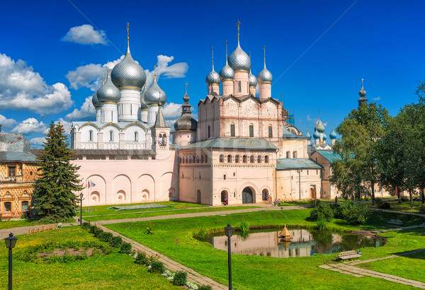 Rostov the Great, Golden Ring, Russian Federation Stock photo © Xantana