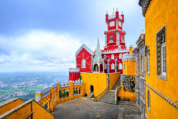 Pena Palace, Sintra, Portugal Stock photo © Xantana