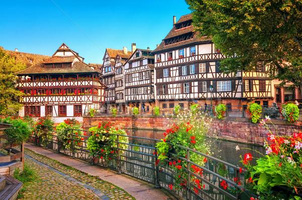Strasbourg, La Petite France district, France Stock photo © Xantana