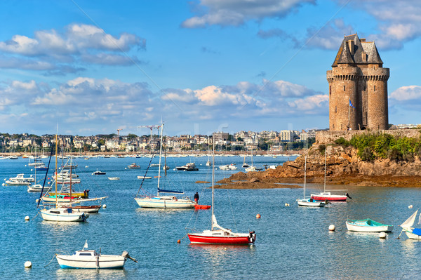 Solidor Tower, Saint Malo, Brittany, France Stock photo © Xantana
