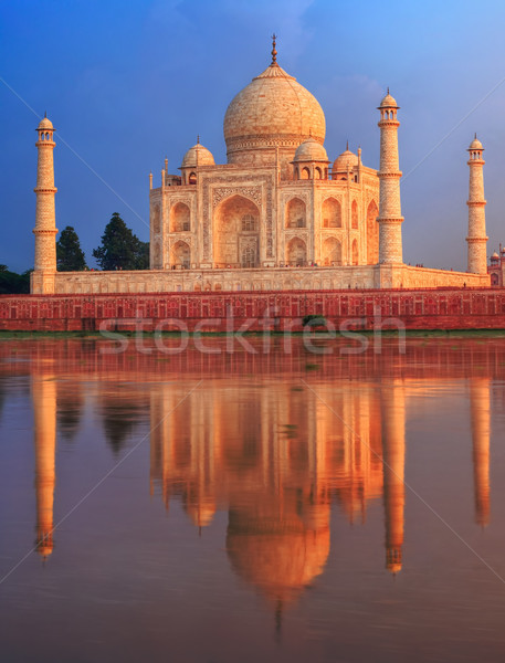 Taj Mahal mausoleum, Agra, India Stock photo © Xantana