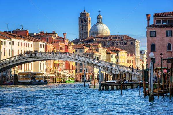 The Grand Canal in Venice, Italy Stock photo © Xantana