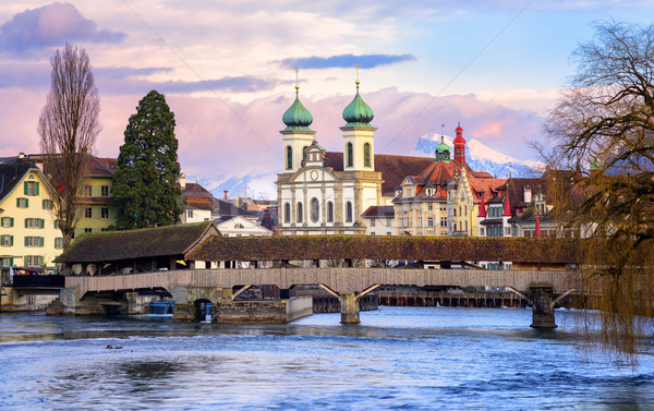 Lucerne Old Town, Switzerland Stock photo © Xantana