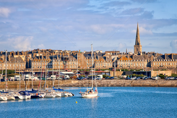 Saint-Malo, Brittany, France Stock photo © Xantana