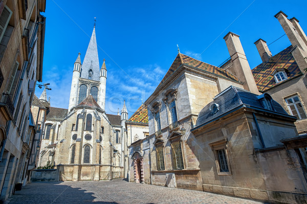 The Church of Notre-Dame of Dijon, Burgundy, France Stock photo © Xantana