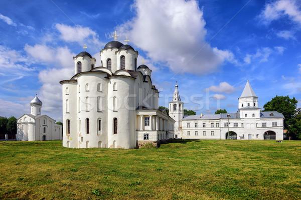 Histórico russo ortodoxo igrejas catedral Foto stock © Xantana