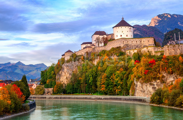 Castle Kufstein on the Inn river, Austria Stock photo © Xantana