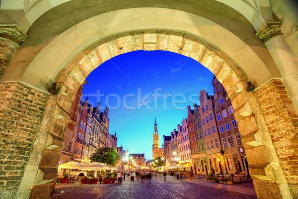 Сток-фото: основной · ратуша · старые · город · Гданьск · Польша