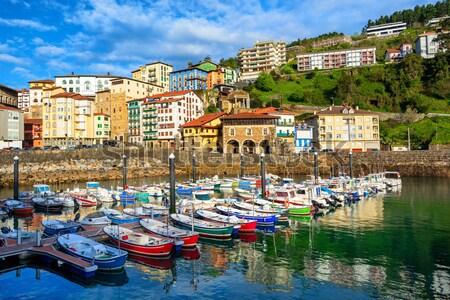 Recorrer cidade porta mediterrânico mar mallorca Foto stock © Xantana