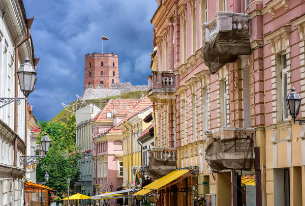 Vilnius Old Town, Lithuania, Eastern Europe Stock photo © Xantana