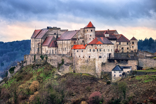 Burghausen castle, Bavaria, Germany Stock photo © Xantana