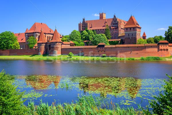 Castillo para histórico mundo agua Foto stock © Xantana