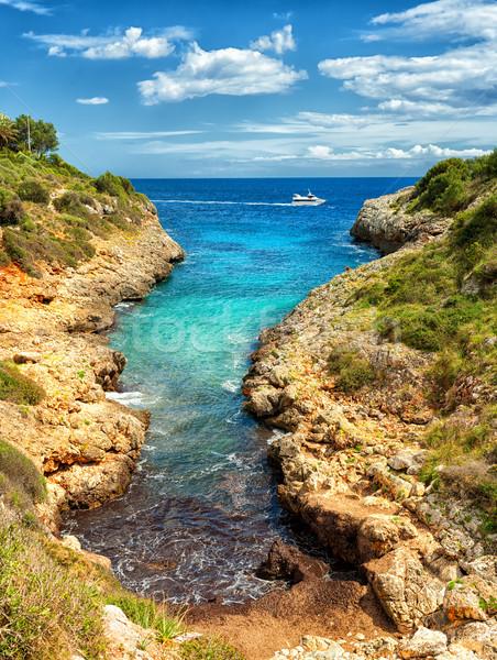 Cala Manacor, Porto Cristo, Mallorca island, Spain Stock photo © Xantana