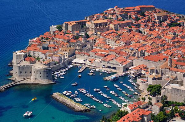 The historical old town of Dubrovnik, Croatia Stock photo © Xantana