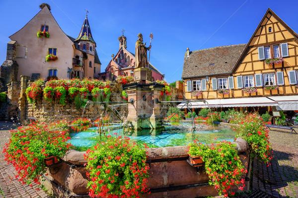 Eguisheim, France Stock photo © Xantana