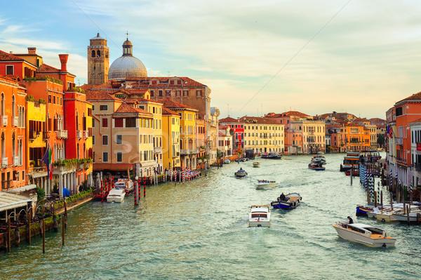 The Grand Canal, Venice, Italy Stock photo © Xantana