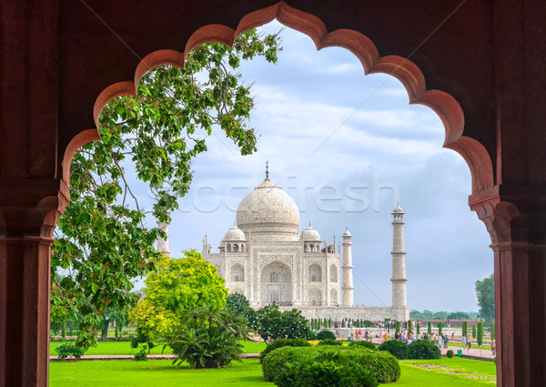Taj Mahal, Agra, India Stock photo © Xantana